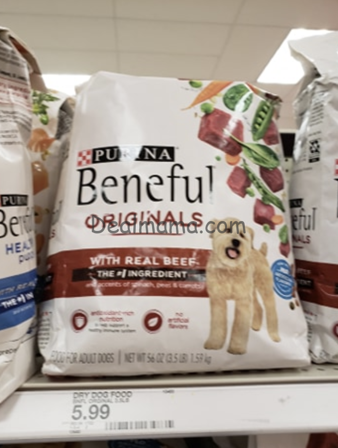 Beneful Dry Dog Food only 3.00 each at Walgreens!