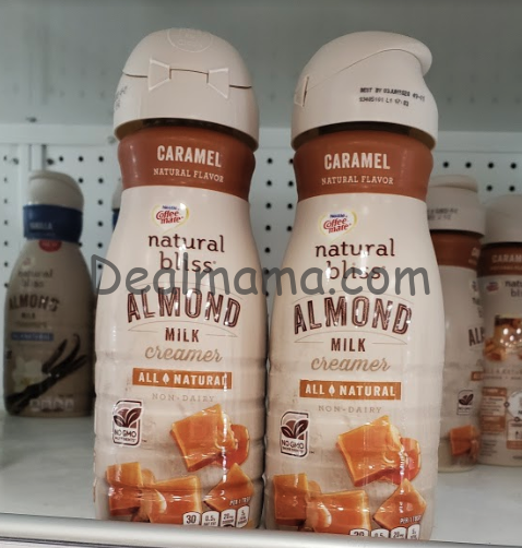 Coffee mate Natural Bliss Creamer only 1.25 at Target