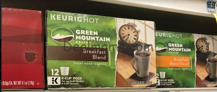Newman's Own or Green Mountain K-Cups Only 5.00 at Rite Aid