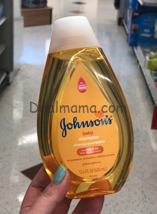 Johnson's Shampoo only 1.92 at Walmart