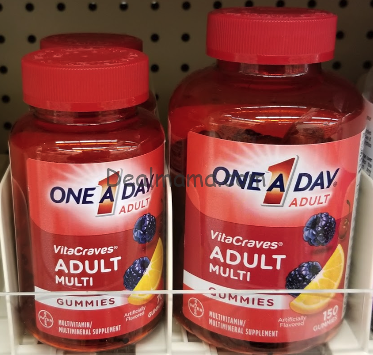 One A Day VitaCraves Multivitamin Gummies only 2.72 Each at CVS