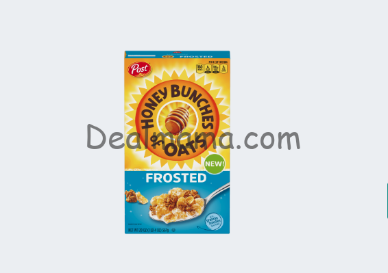 Post Honey Bunches of Oats Frosted only 0.99 At Kroger