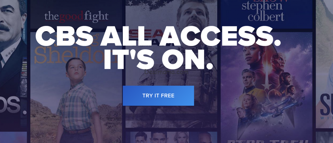 FREE 1-Month Subscription to CBS All Access