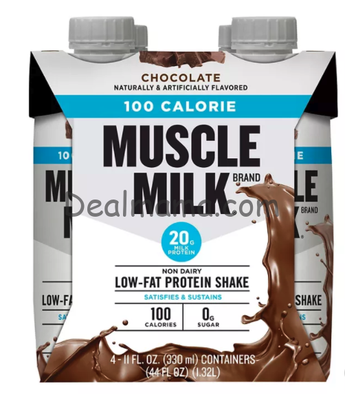 Muscle Milk Shakes 4-Pack only 2.85 at Target