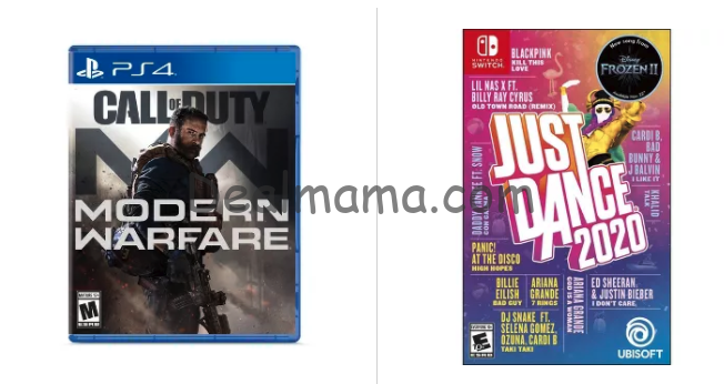 Buy 2, Get 1 Free Video Games on Target.com