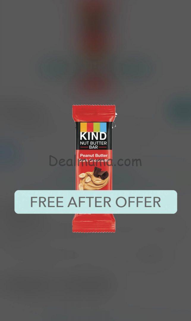 FREE KIND Nut Butter Bar at Target!