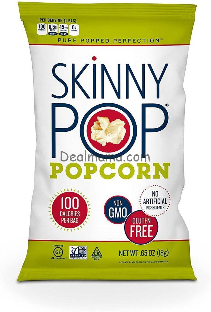 SkinnyPop Popcorn Snack-Size 30-Count Only 8.93 Shipped!