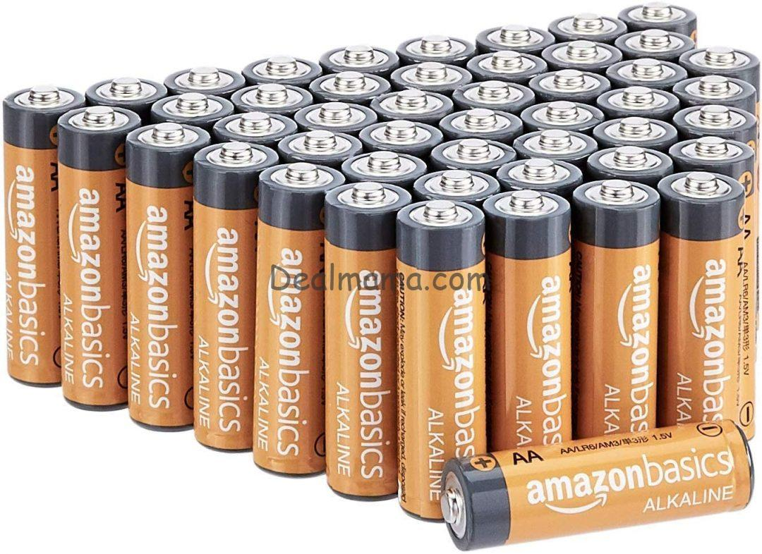 AA Alkaline Batteries 48-Pack Only 7.70 Shipped!