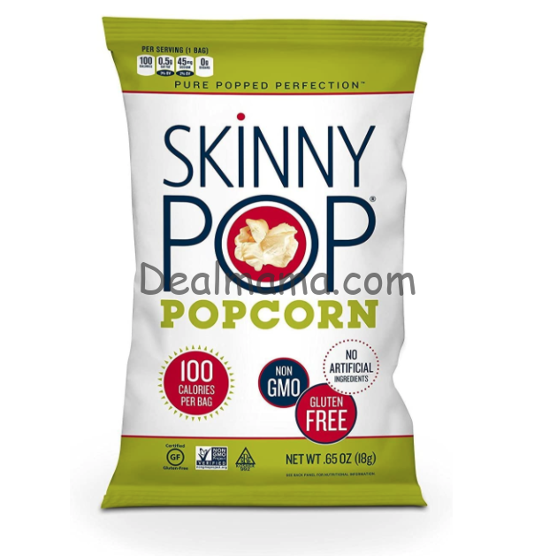 SkinnyPop Snack-Size Bags 30-Count Only 8.93 Shipped!