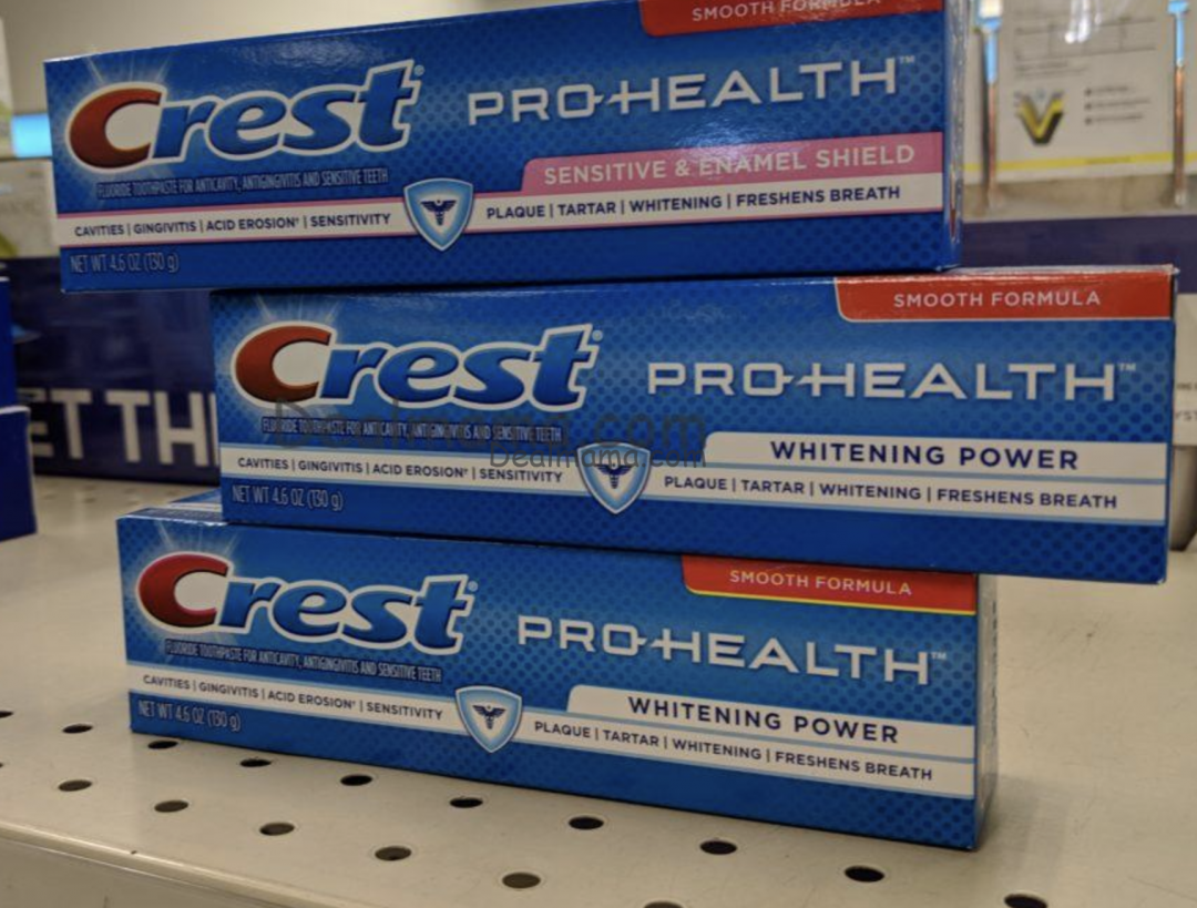 Crest Toothpaste just .50 at Walgreens