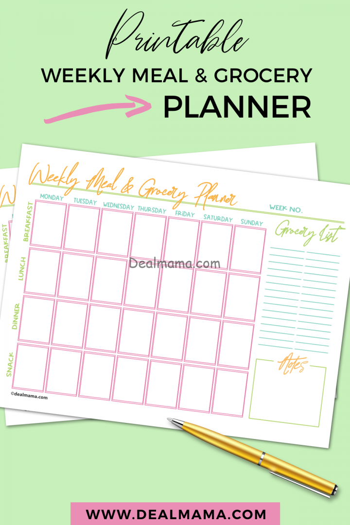 How To Start Meal Planning Simply with Printable!