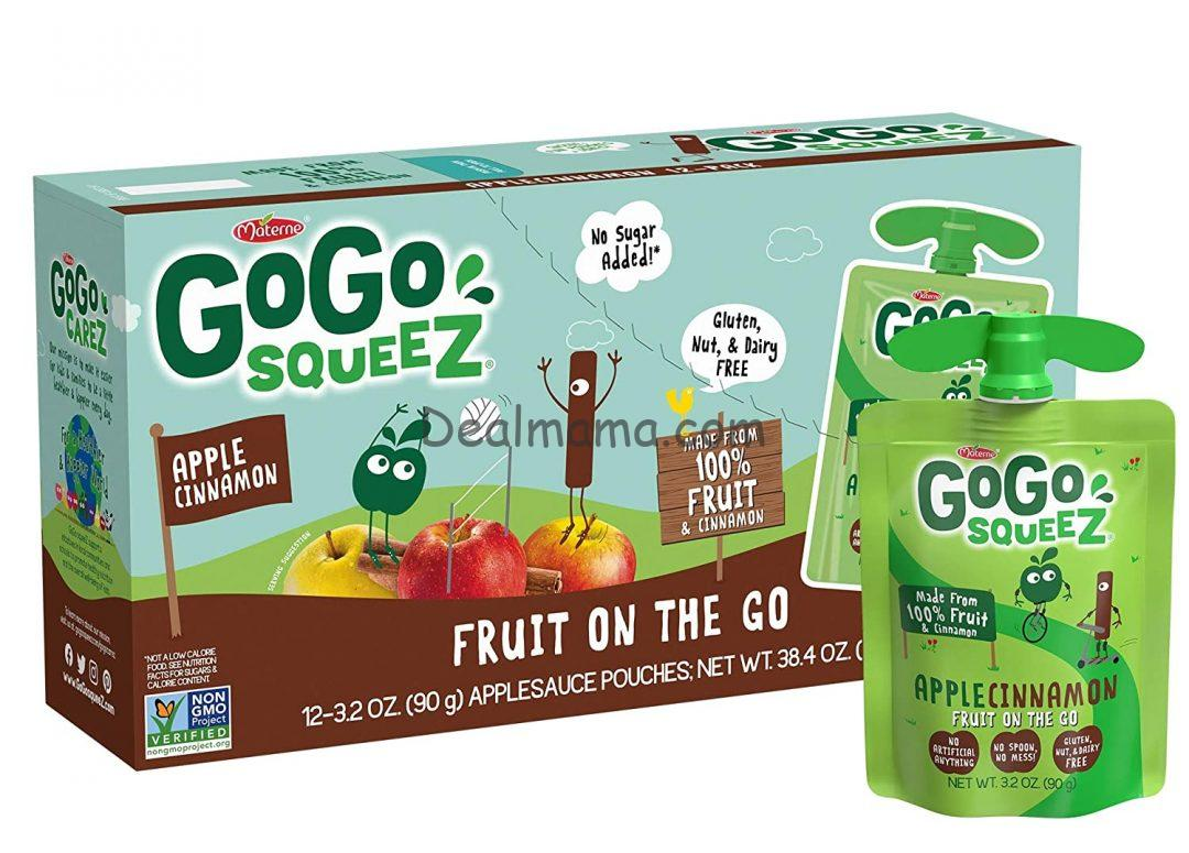 GoGo squeeZ Applesauce Pouches 12-Pack Only 5.68 Shipped