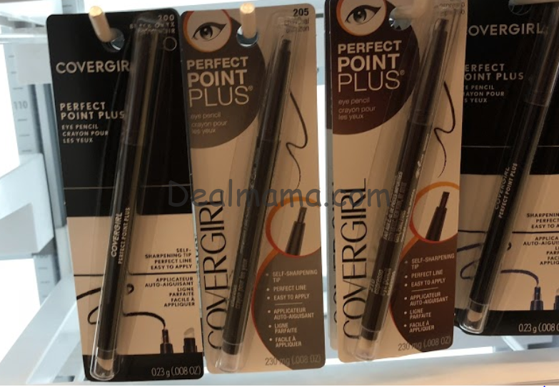 CoverGirl as low as 1.62 each at Walgreens!