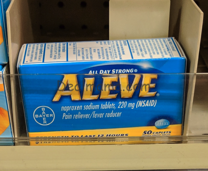 Aleve Pain Reliever only 2.00 at Dollar General