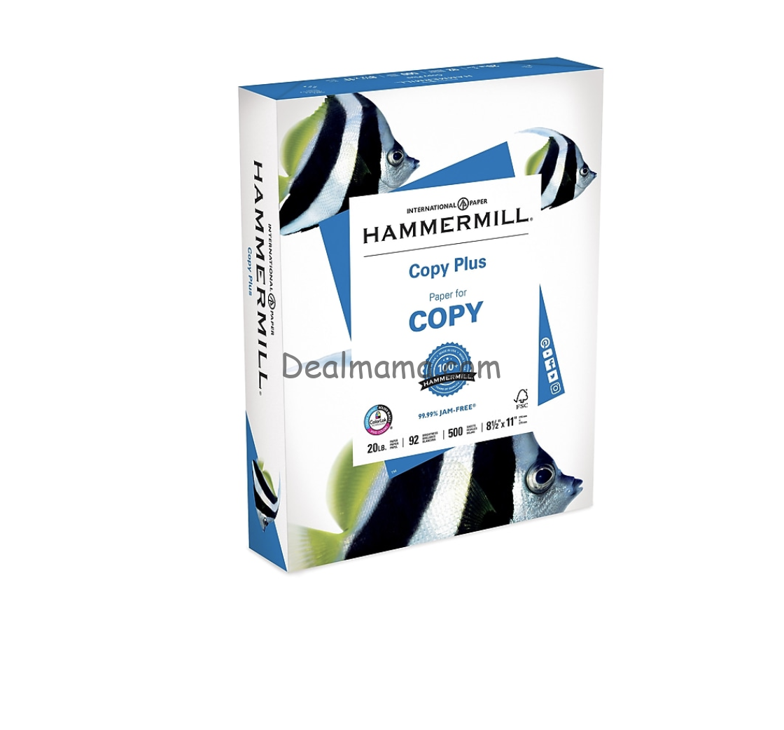 HURRY!!! Hammermill Copy only 2.00 at Staples!! (POSSIBLE GLITCH)