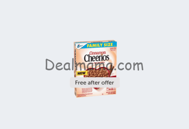 Free Box of Cheerios Cereal at Walmart!