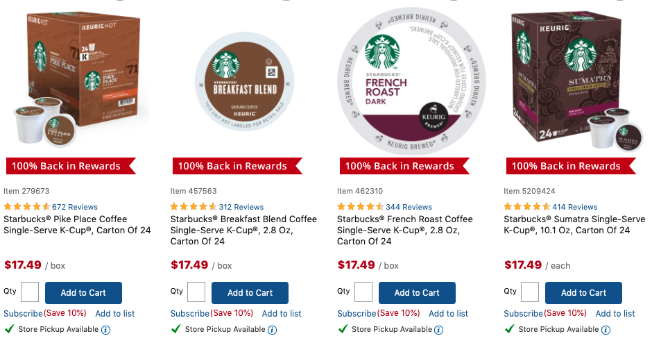 FREE 24-36 Count K-Cups Boxes at Office Depot!