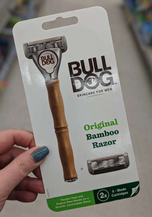 Bulldog Razors just 3.41 at Walgreens