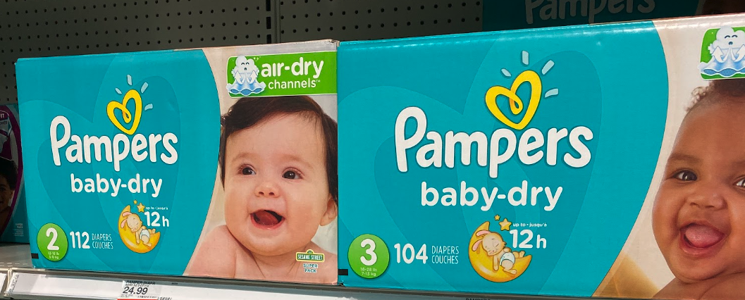 Pampers/Always only 3.57 each at Walgreens!