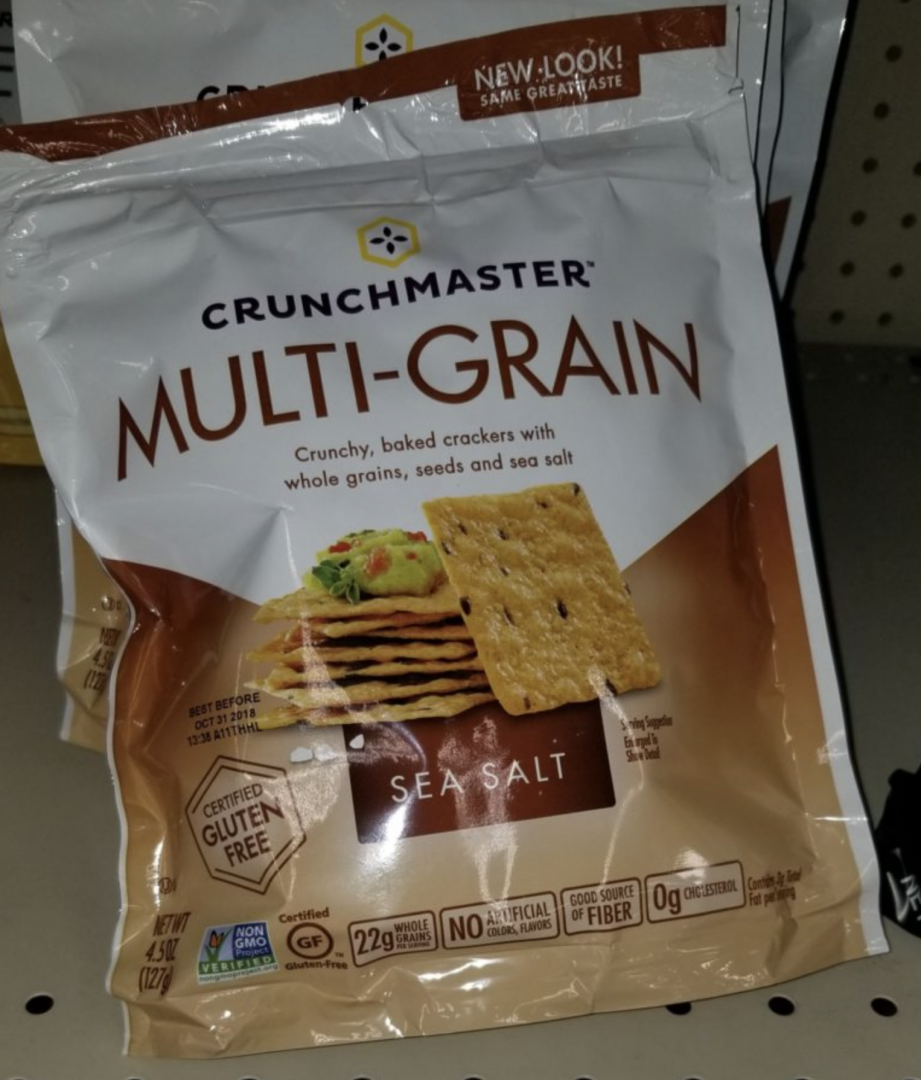 Crunchmaster Crackers only 0.78 each at Walmart!