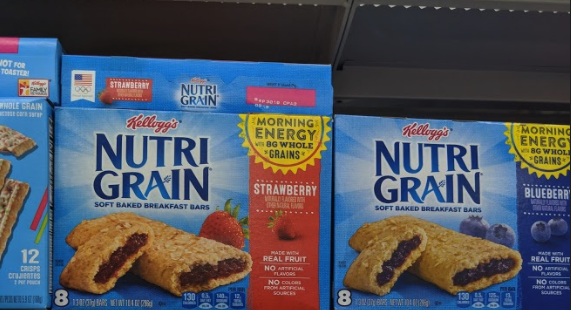 Kellogg's Nutri-Grain Bars only 0.90 each at Rite Aid
