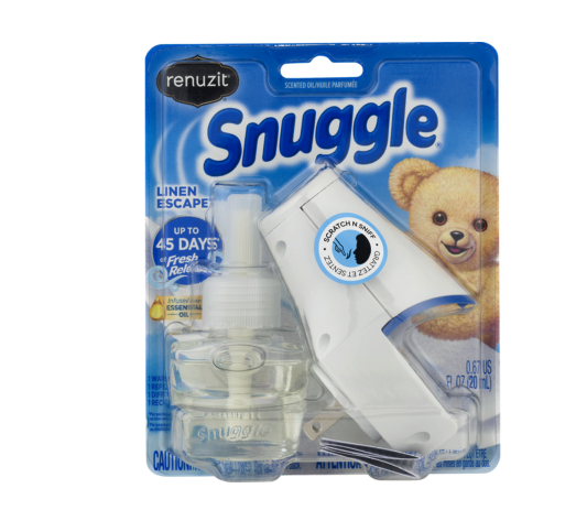 Renuzit Snuggle Oil Starter Kit only 0.50 each at Dollar General!