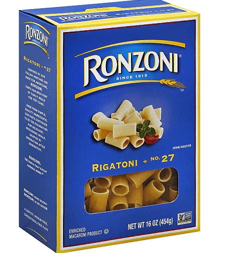 Ronzoni Pasta only 0.69 at Kroger!
