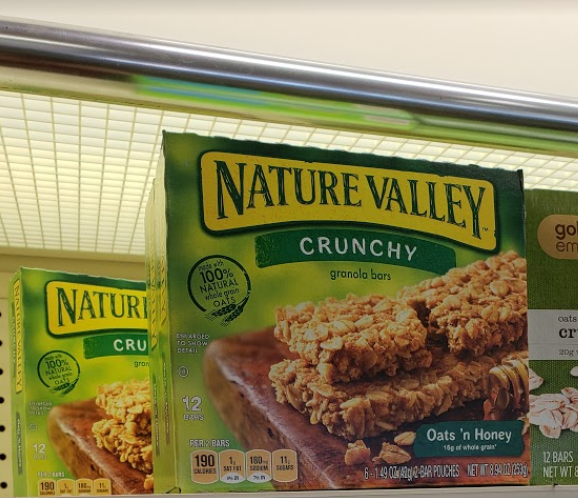 Nature Valley Cereal Bars only 1.74 Each at CVS