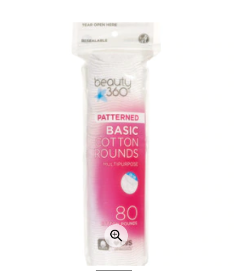 FREE Beauty 360 Cotton Rounds Product!