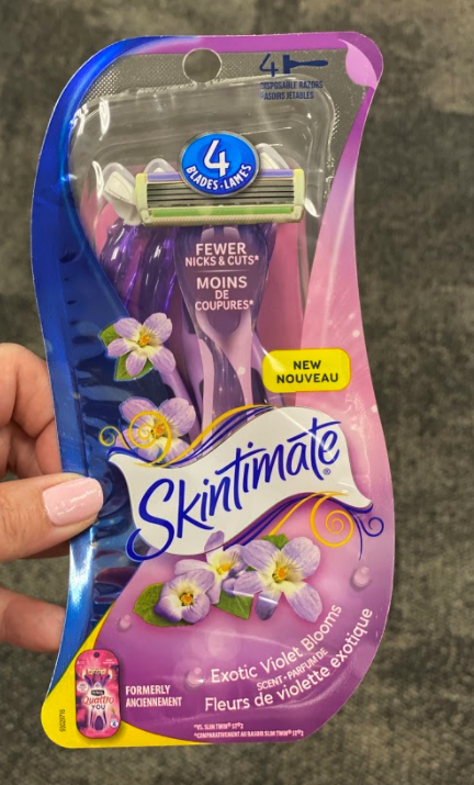 Schick or Skintimate Disposable Razors only 0.99 at CVS!