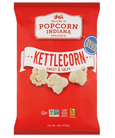 Popcorn Indiana Kettle Corn Popcorn Only 1 68 At Walmart Extreme Couponing Deals