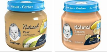 MONEYMAKER on Gerber Natural Food Jars at Walmart!