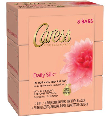 Caress Beauty Bar Soap 3pk ONLY 0.75 each at Dollar General!