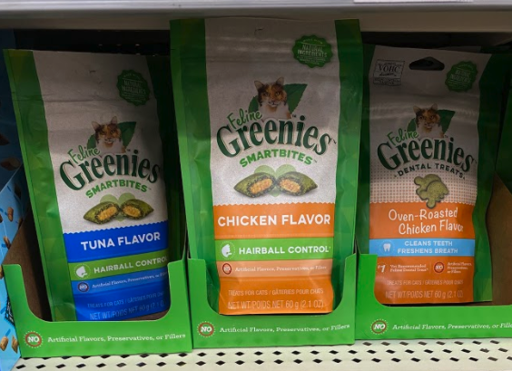 Feline Greenies Cat Treats only 1.24 at Target!