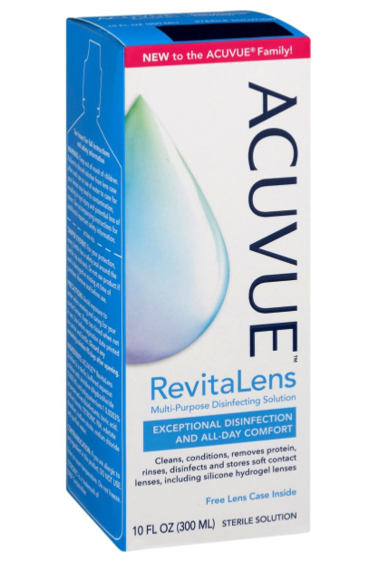 FREE Acuvue RevitaLens 10-Ounce Contact Solution at Target!