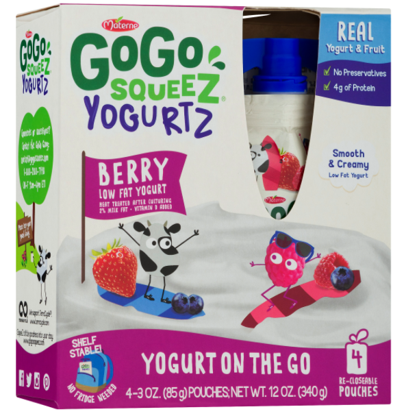 FREE GoGo SqueeZ Yogurtz 4-Count at Target