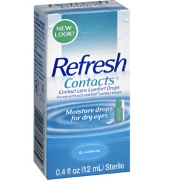 Refresh Contacts Comfort Drops only 1.47 at Rite Aid!