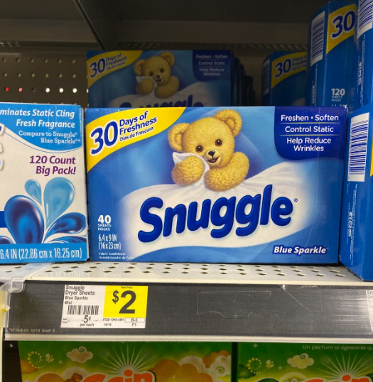 Snuggle Dryer Sheets only 1.00 at Dollar General!