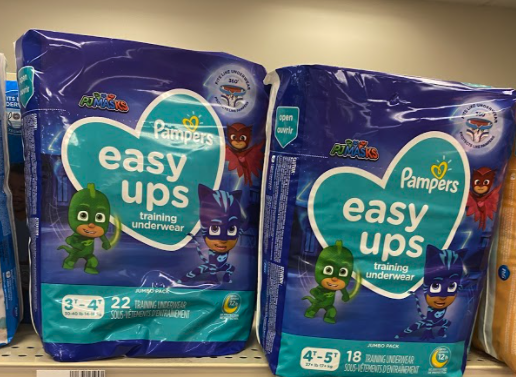 Pampers Easy Ups Jumbo Packs only 3.50 Each at Walgreens!