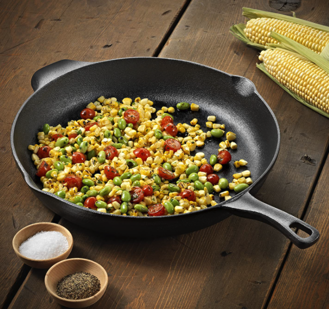 Calphalon Pre-Seasoned 12-inch Cast Iron Skillet only 19.19!
