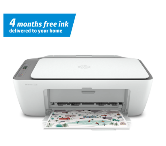 HP All-in-One Printer + 4 Months of Ink only 24.00 at Walmart