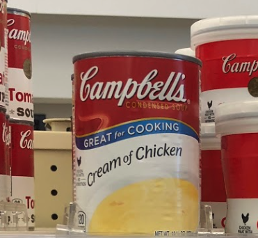 Campbell's Cream of Soup just .40 at Kroger