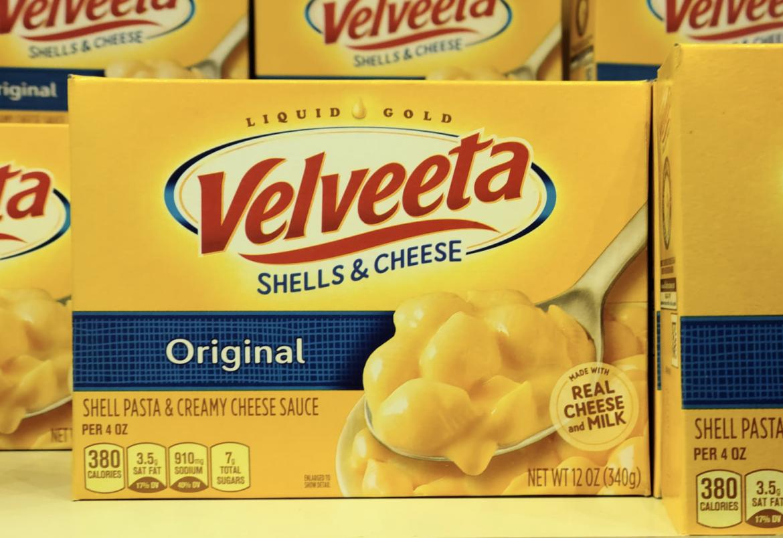 Velveeta Shells & Cheese only 1.24 at Kroger!