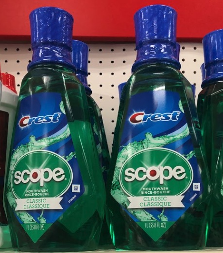 Scope Mouthwash only 0.79 at CVS!