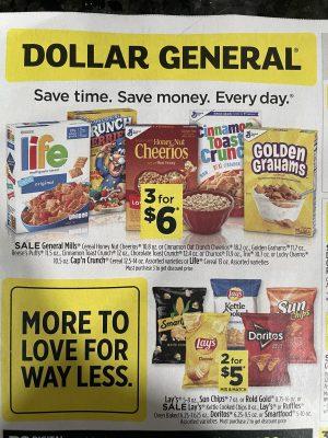 Dollar General Ad Scan