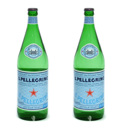 S Pellegrino Sparkling Natural Mineral Water, 1L Bottles only 1.33 at Rite Aid