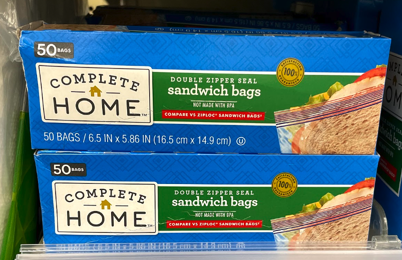 Complete Home Storage Bags just .93 at Walgreens
