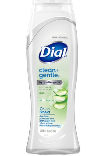 Dial Clean + Gentle Body Wash just 1.50 at Rite Aid
