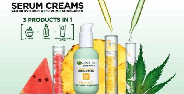 FREE Sample of Garnier Green Labs Serum Cream!