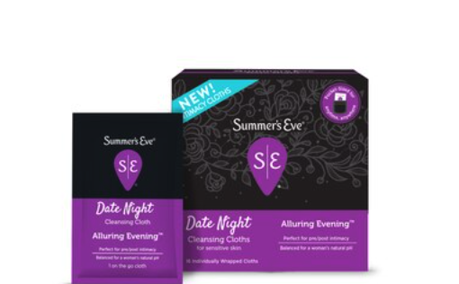 Summer's Eve Date Night Feminine Cleansing Cloths only 0.87 at CVS!